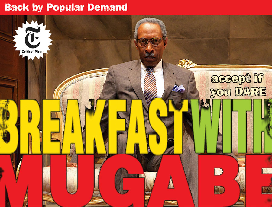 Breakfast With Mugabe the play in New York